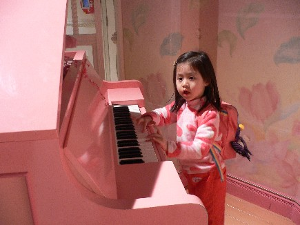 Kitty的粉紅鋼琴耶