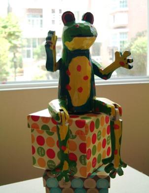 軒軒和your ba的青蛙