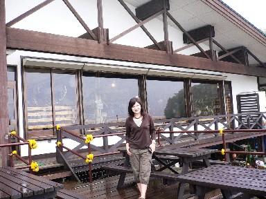 湖畔的木屋咖啡店