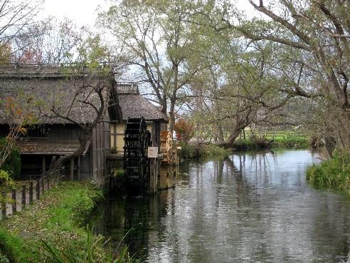 """這個優美的水車小屋,是黑澤明""""夢""""第8話的取景地"""