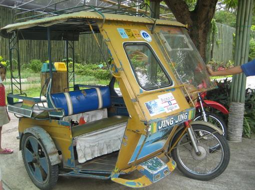 當地的主要交通工具tricycle