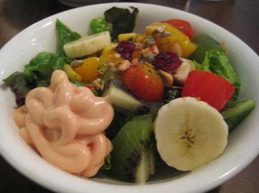 青菜水果沙拉