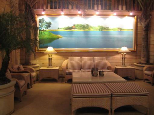 度假村的Lobby,是一棟只有兩樓的cottage style建築