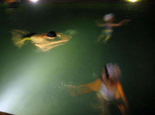 冬日的溫泉泳池為酒店加分不少