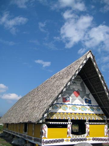 帛琉男人屋