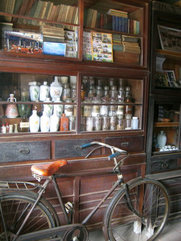 我阿公也有一台這樣的腳踏車