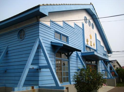 菁寮國小循日式築法蓋的中山堂