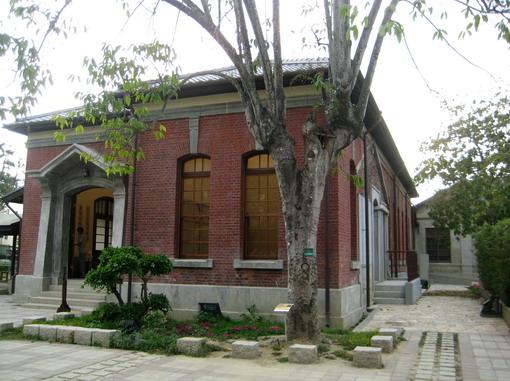 舊時的紅樓餐廳,現為藝廊