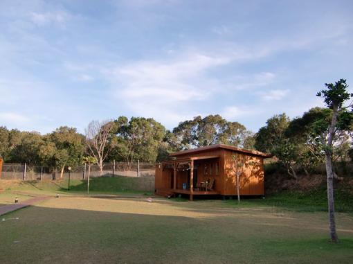 關山下的「樂活木屋」