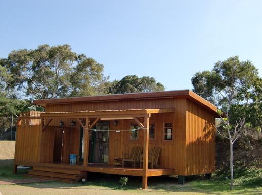 森林屋有兩間,當初就指定要這種屋型,果然很讚!