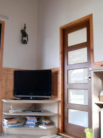 有電視,但也幾乎沒在看!