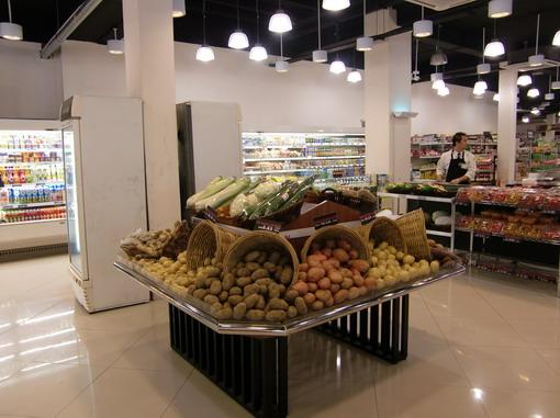 Eden54出門右轉就有一個高級超市