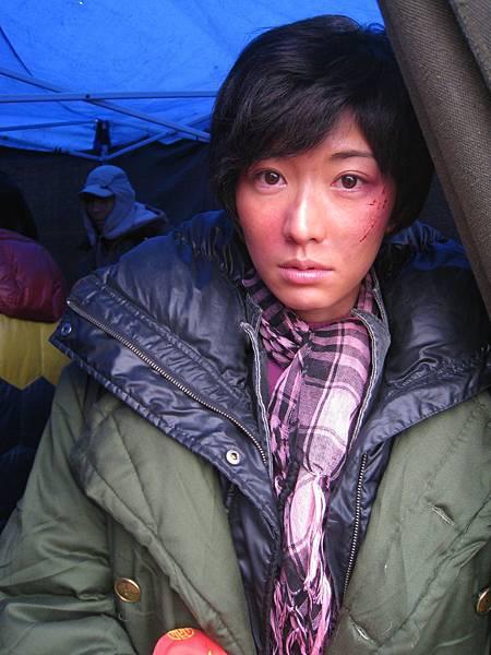林志玲演出決戰剎馬鎮造型突破,扮醜又化特殊傷妝.jpg