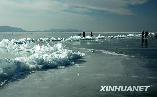 天津 冰凌奇觀