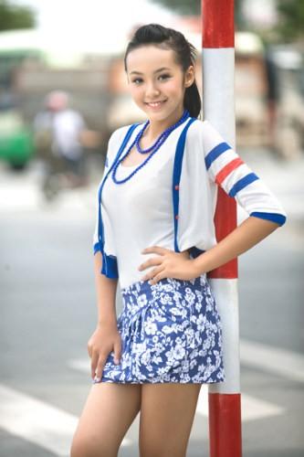 越南12歲嫩模8