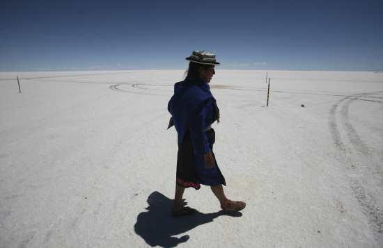 世界最大的鏡子 南美洲烏尤尼鹽沼