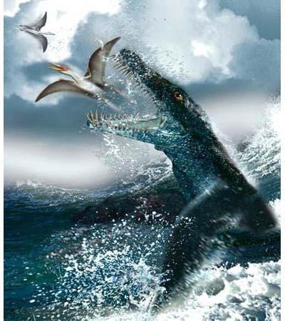 北極海洋暴龍 古生物