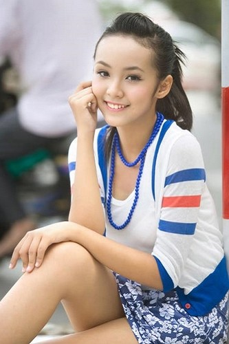 越南12歲嫩模7