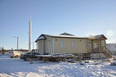 北極建清真寺