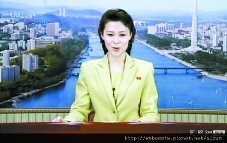 北韓新女主播2