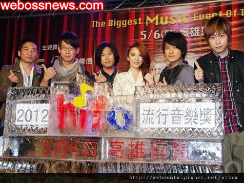 2012 hito 流行音樂獎