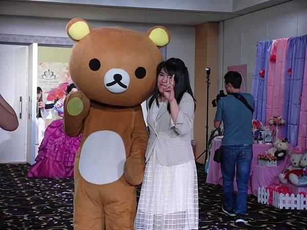台南文定婚宴拉拉熊出租+小丑汽球+魔術表演 (5).JPG