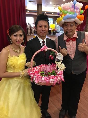 1228屏東東隆堂婚宴會館婚禮主持+魔術汽球表演 (21).JPG