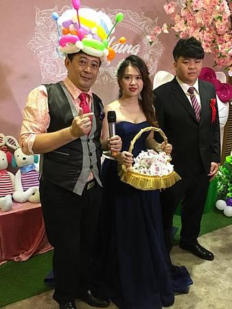 0428雲林斗六珍村婚禮主持人+魔術汽球表演 (12).JPG
