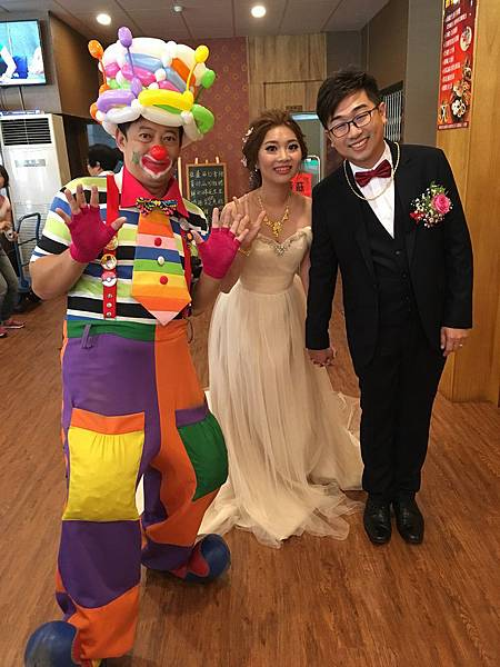 屏東婚禮小丑表演 (3).JPG