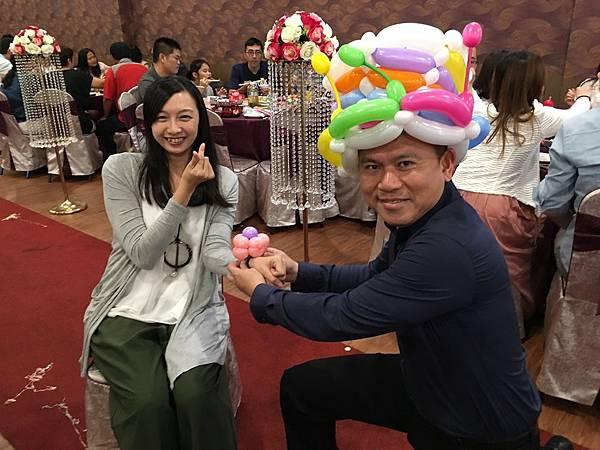 屏東婚禮小丑表演 (5).JPG