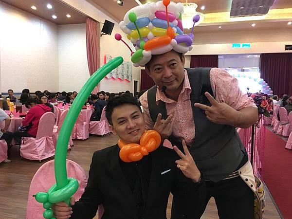 屏東婚禮主持+雙人川劇變臉+魔術氣球表演@屏東和樂 (4).JPG