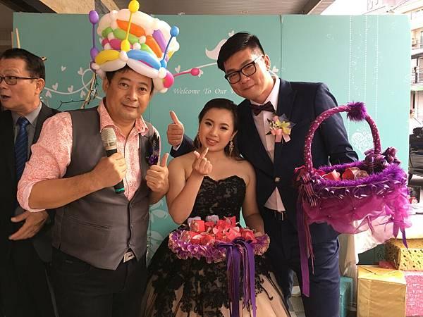 屏東婚禮主持+雙人川劇變臉+魔術氣球表演@屏東和樂 (13).JPG