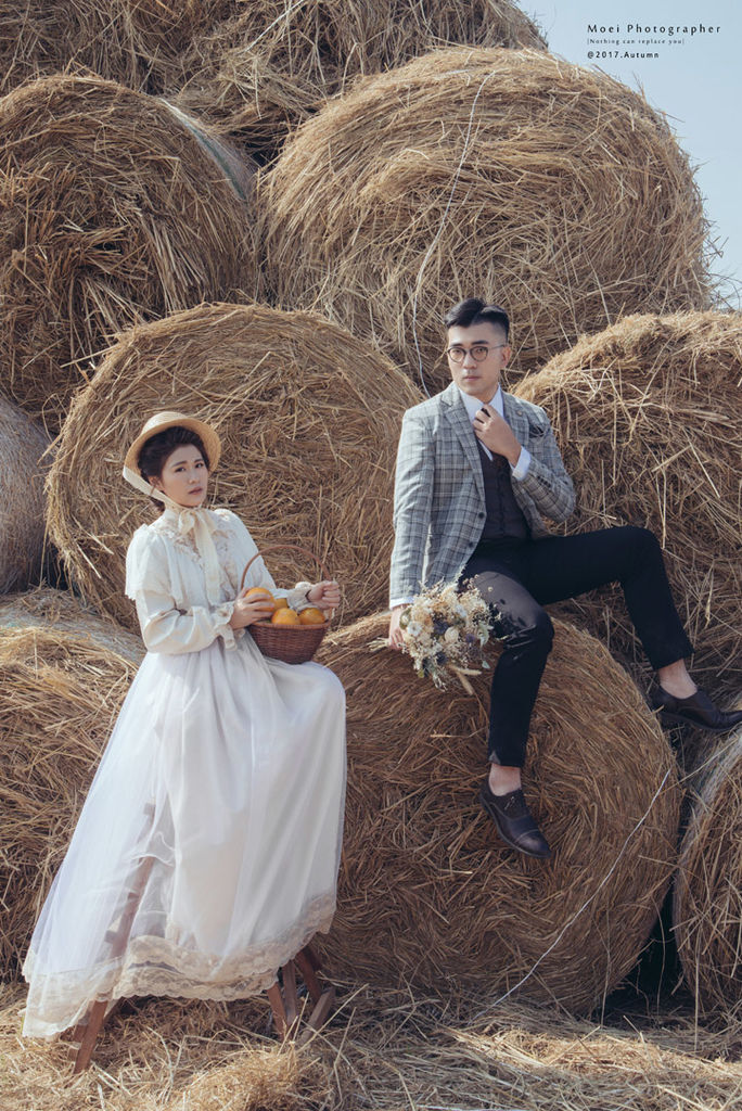 草捲上的婚紗 - 自助婚紗攝影 | 蕭以姍 MOEI