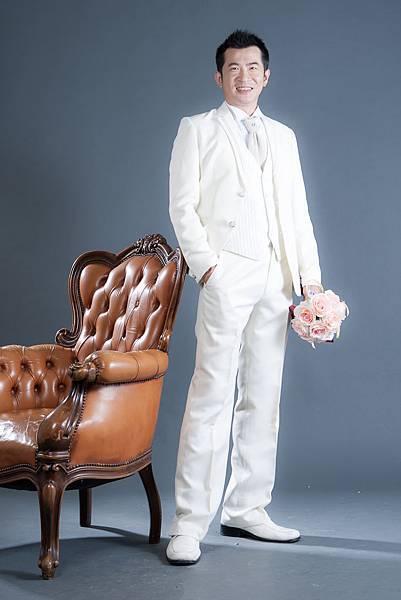 【自助婚紗】【婚紗攝影】【推薦】【作品集】【台北】【高雄】攝影:山米 新人:信安&照琳 優雅長白紗