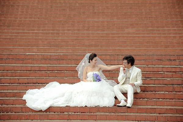 自助婚紗/婚紗照/婚紗攝影-白紗