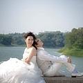 自助婚紗/婚紗照/婚紗攝影-海岸