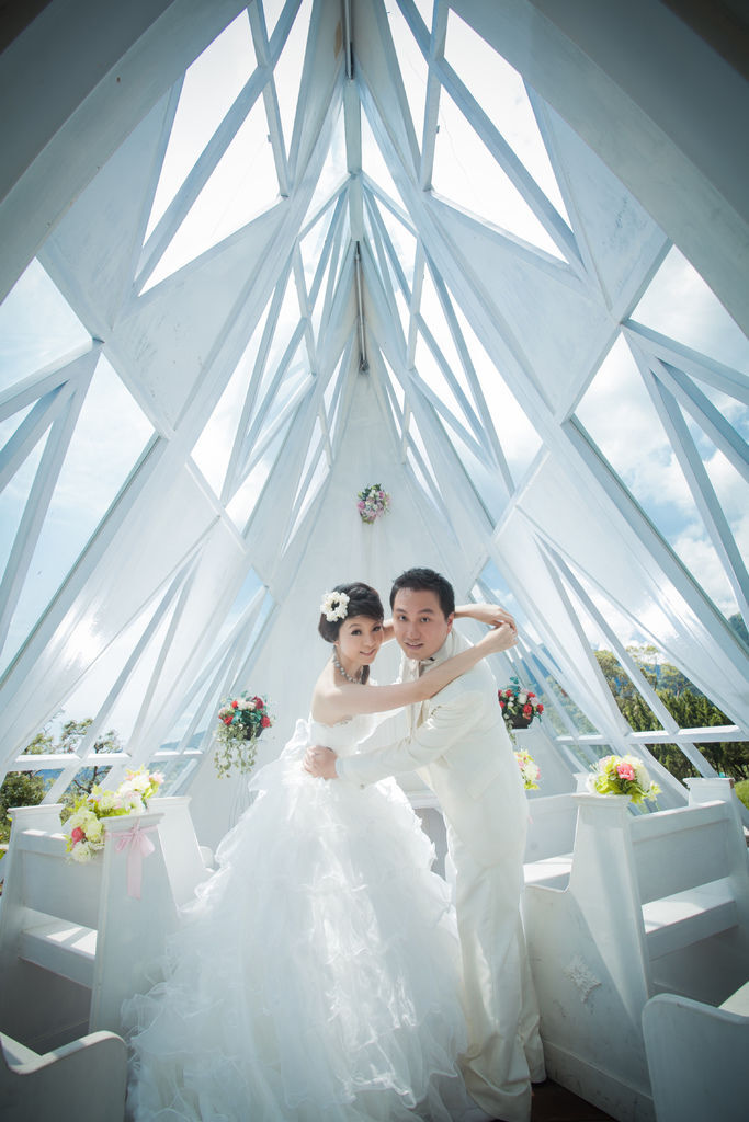 伊頓自助婚紗攝影
