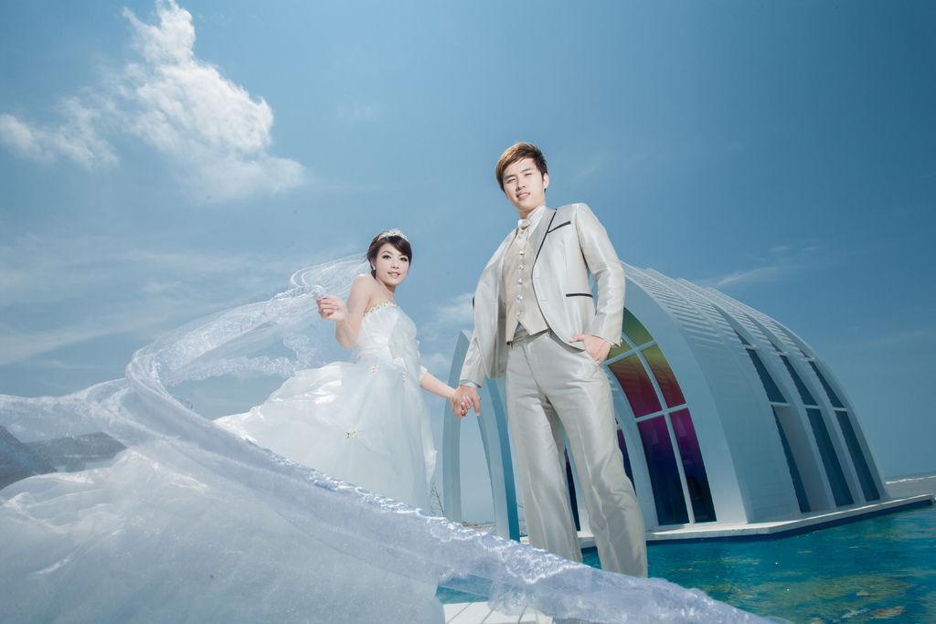 志&芬-推薦台北自助婚紗攝影