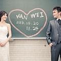 蘇+偉-台北自助婚紗攝影