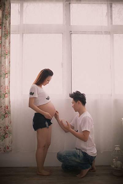 【韓風孕婦寫真】【孕婦照】【台北】【推薦】