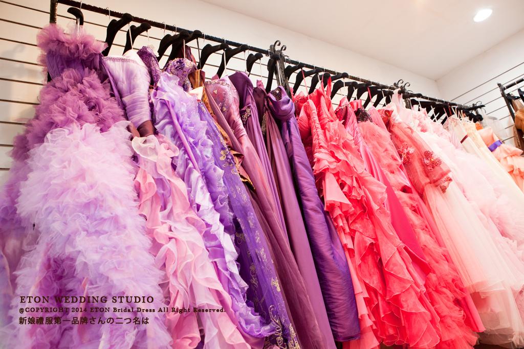 伊頓自助婚紗工作室-手工婚紗出租