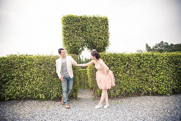 【台灣婚紗攝影】感謝[芸&濤]推薦(謎樣森林)