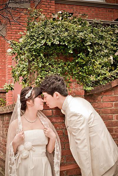 英倫教堂婚紗照