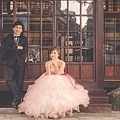 和風建築婚紗照