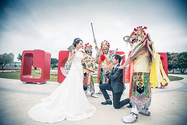 官將首婚婚紗照