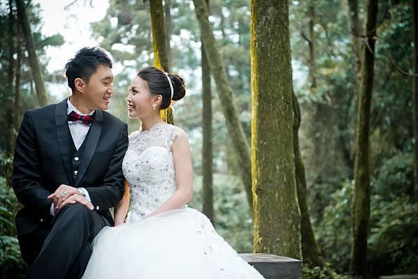 台灣婚紗攝影:森林系婚紗