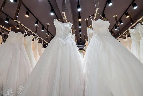 桃園婚紗工作室-手工白紗