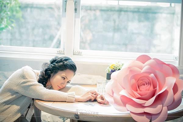 巨型玫瑰花