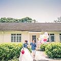 氣球外拍婚紗照