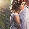 逆光婚紗照